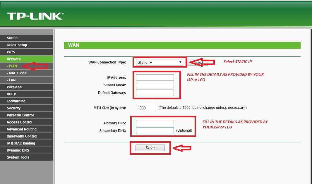 Configure Router - Siti BroadBand User's